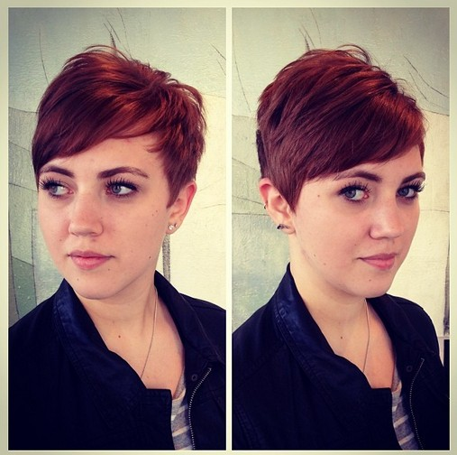 Gamine Pixie For Redheads