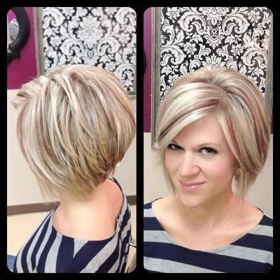 Pleasant Layered Bob Hairstyle Easy Daily Haircut For Women Hairstyles Short Hairstyles Gunalazisus