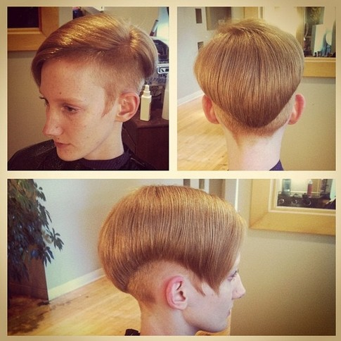 Short Edgy Hairstyle
