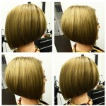 Short Sleek A-line Bob Hairstyle for Girls