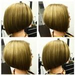 Short Sleek A-line Bob Hairstyle for Girls