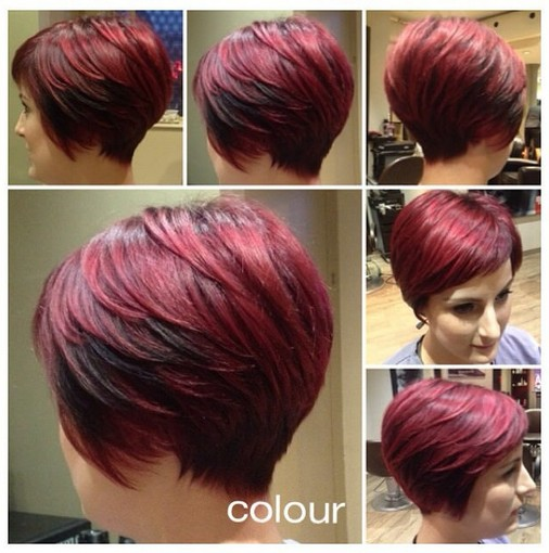 Red Head Cool Short Layered Red Haircut Hairstyles Weekly