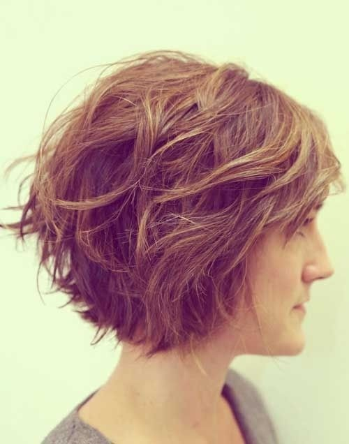 Fabulous Layered Short Haircut For Thick Hair Hairstyles