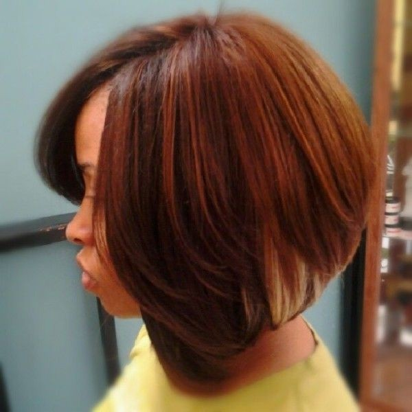 Short Hairstyles For Black Women The Red Bob Cut
