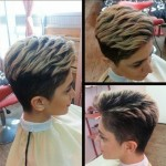 Simple Easy Short Haircut for Women Over 30