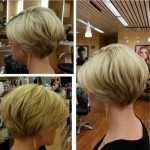 Simple easy short hairstyle for moms