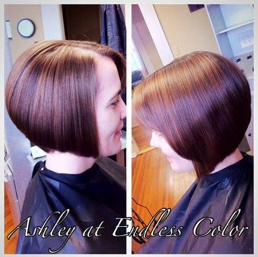 Sleek A-line Bob Haircut for Women