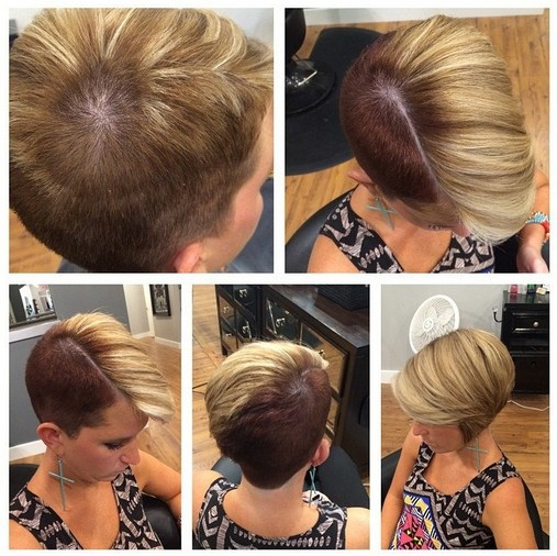 Stylish Edgy Hairstyles for Short Hair