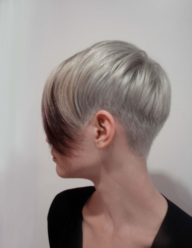 Женские стрижки на короткие волосы 2017-2018 затылок