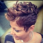 Textured Mohawk Haircut for Women