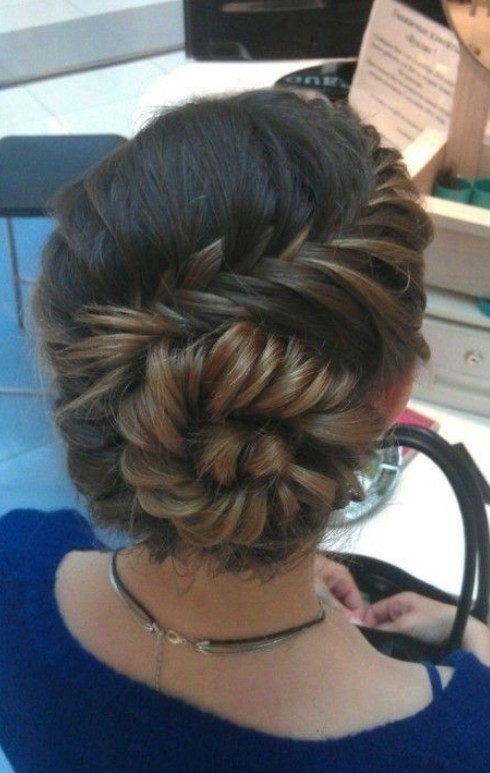 conch shell braid for prom