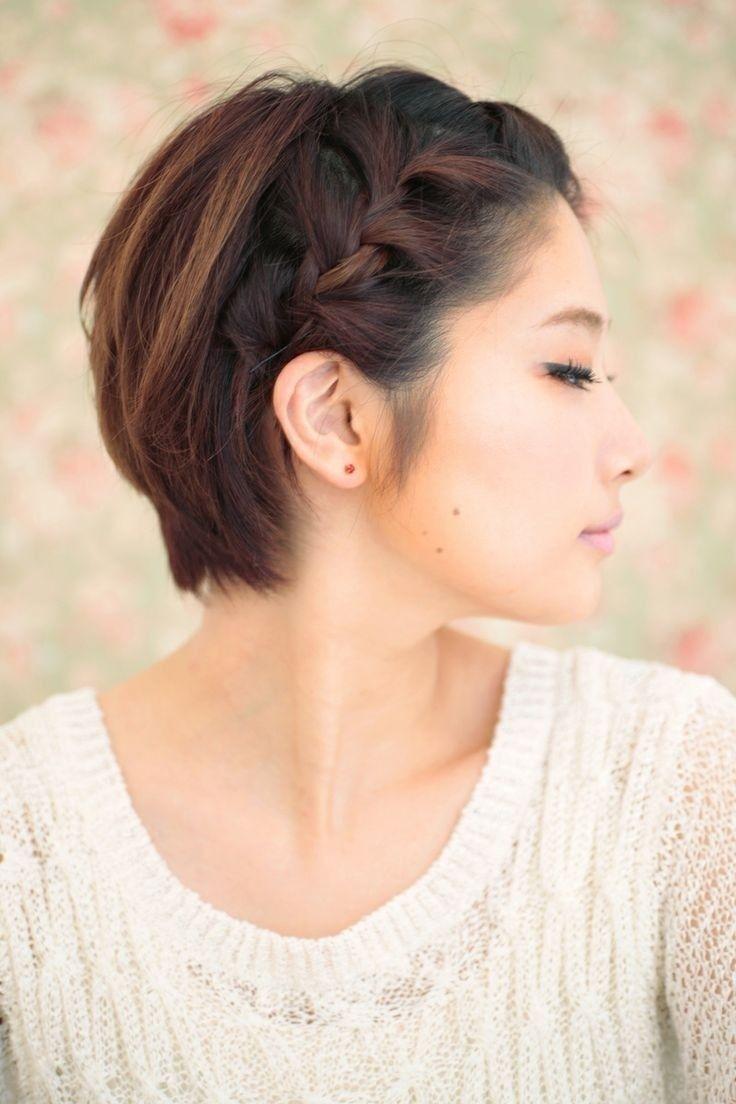 22 Super Cute Braided Short Haircuts