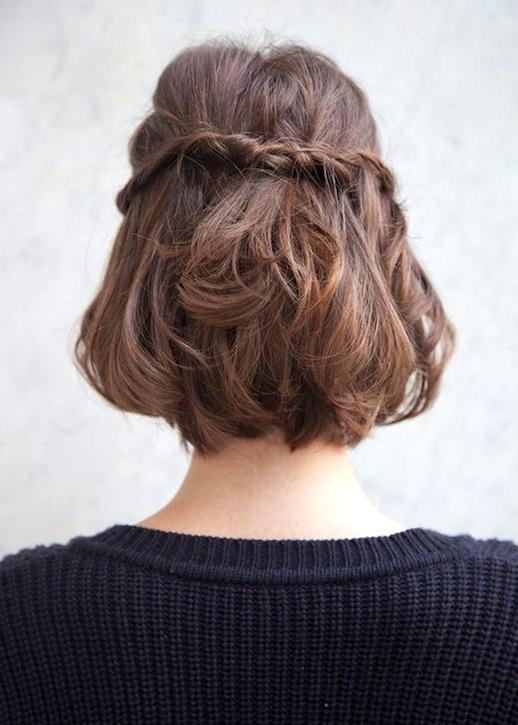Braided Short Haircuts