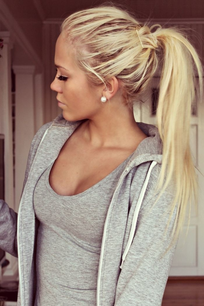 Cute Ponytail Hairstyles For Long Hair Hairstyles Weekly