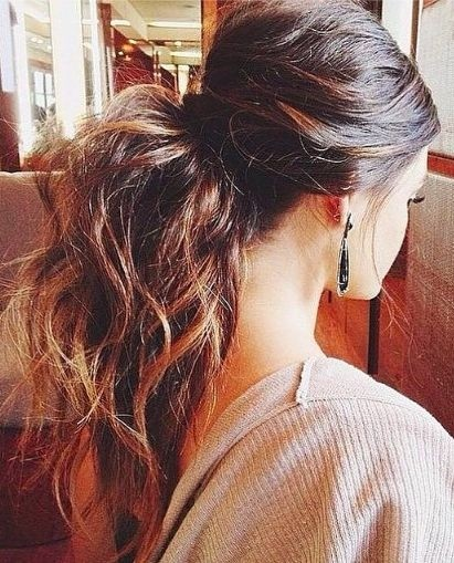 Easy Ponytail Everyday Hairstyles For Long Hair Hairstyles Weekly