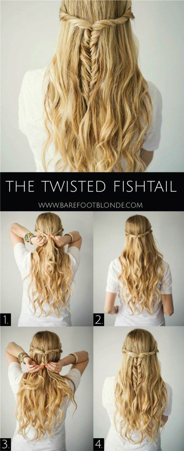 22 Fabulous Half Up Half Down Hairstyles 2018 (Step by Step Hair ...