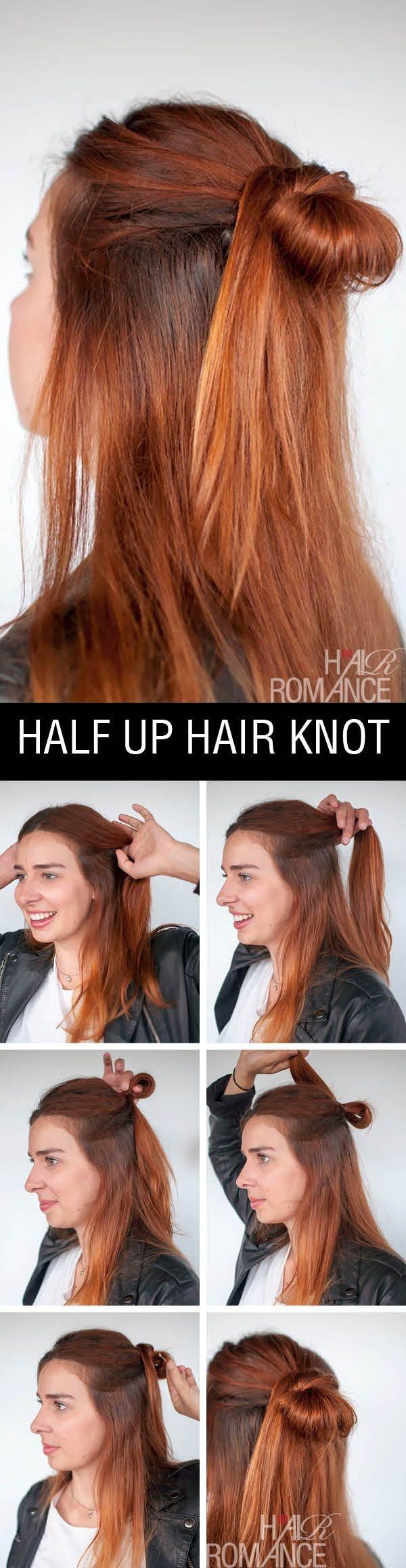 22 Half Up Half Down Hairstyles Easy Step By Step Hair
