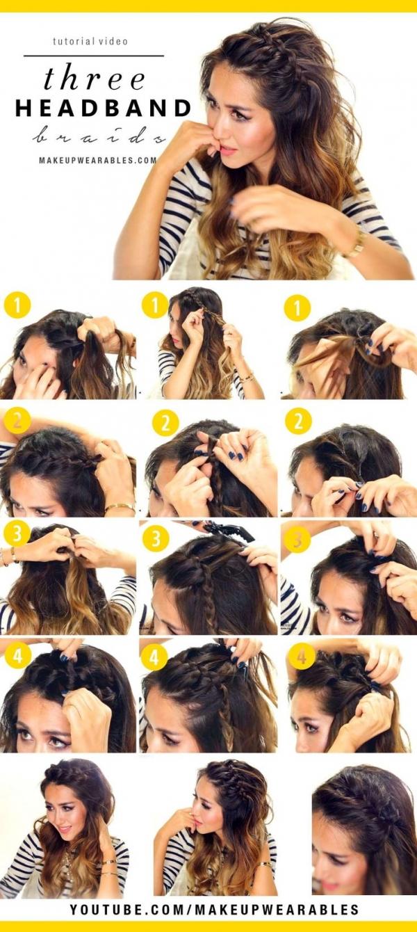 Strange 20 Fabulous Half Up Half Down Hairstyles 2017 Step By Step Hair Short Hairstyles Gunalazisus