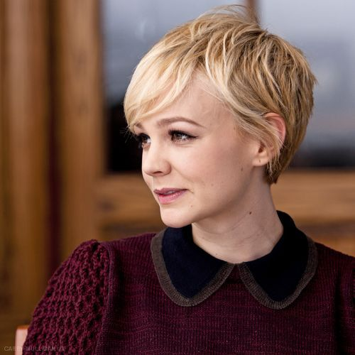 Asymmetrical Long Pixie Cut
