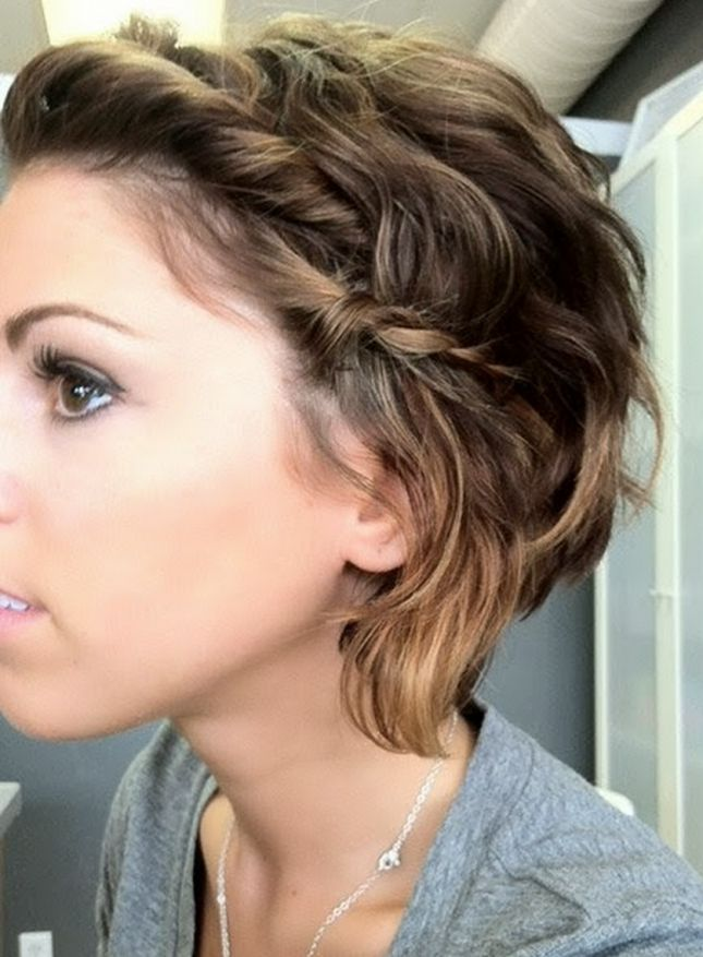 Cute Short Haircut With Braid Grow Out Pixie Cut Hairstyles Weekly