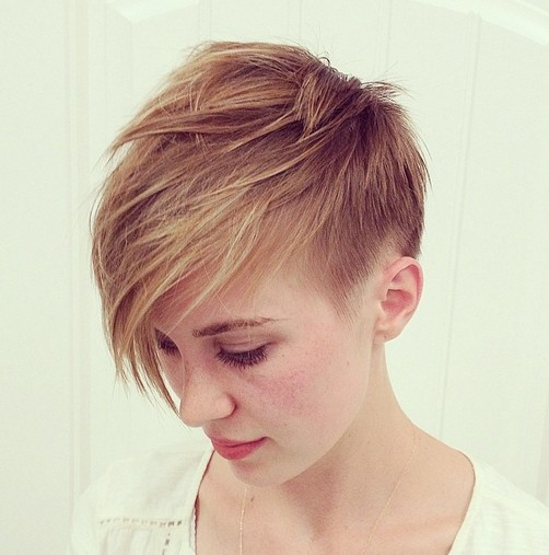 Easy longer pixie cut for thin hair