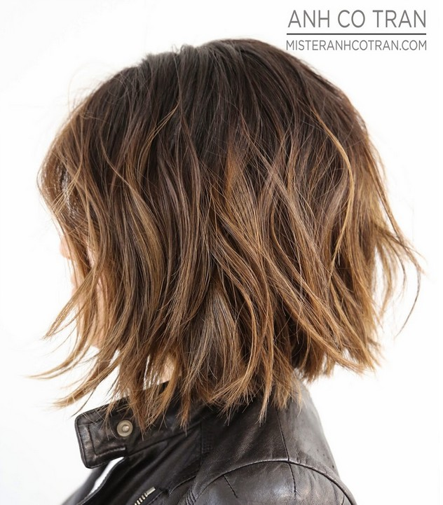 Shoulder Length Thick Hair Short Layered Haircuts 81