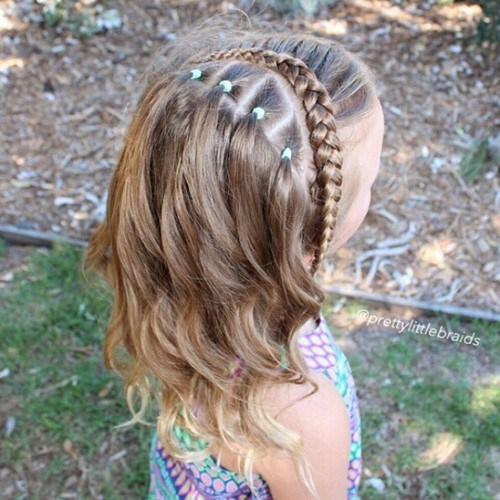 Enjoyable 20 Cute Braided Hairstyles For Little Girls Hairstyles Weekly Short Hairstyles Gunalazisus