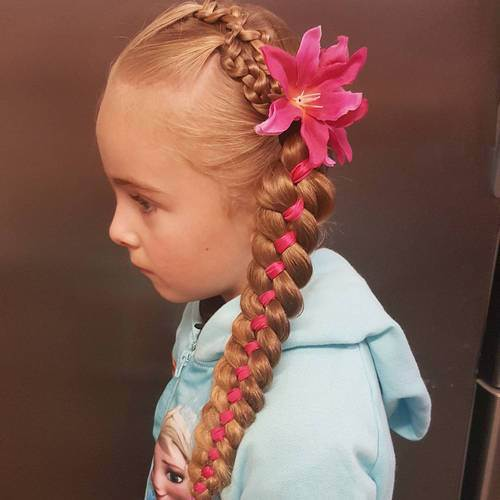 Super 20 Cute Braided Hairstyles For Little Girls Hairstyles Weekly Short Hairstyles Gunalazisus