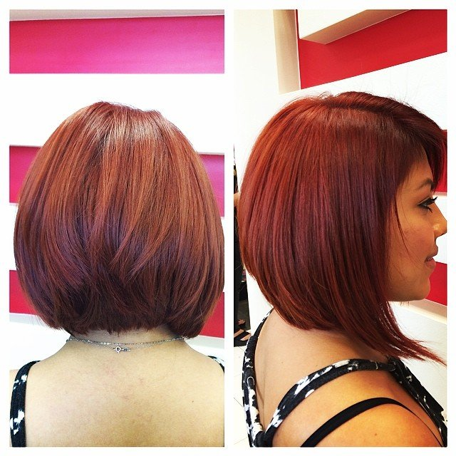 2016 Angled Bob Hairstyles For Thick Hair Hnczcyw Com Haircuts