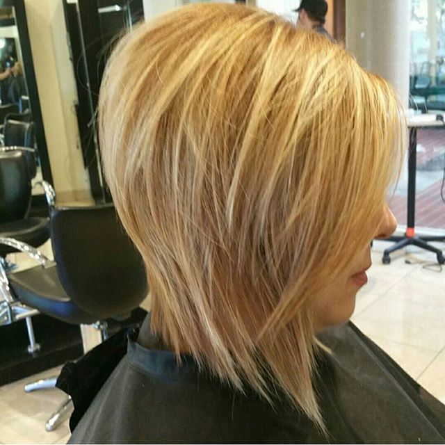 A Line Bob Haircut For Thick Hair