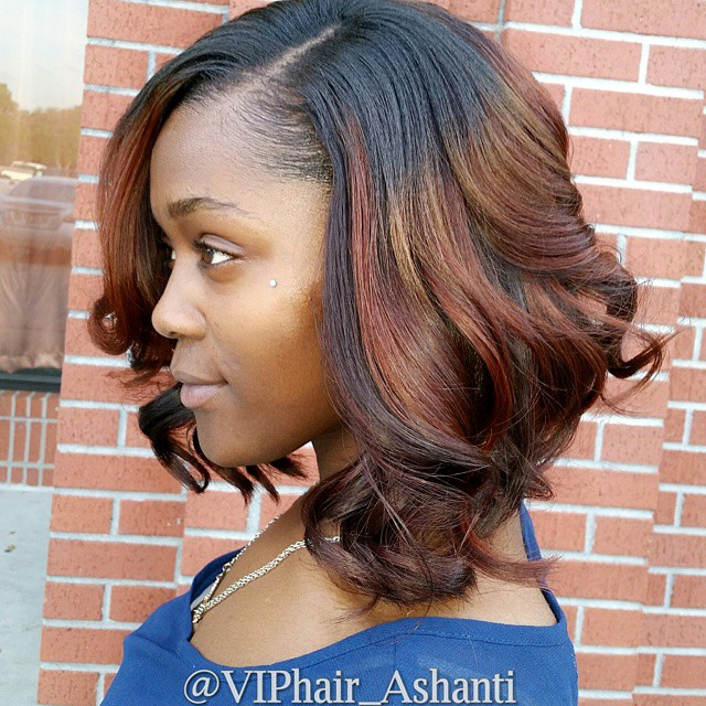 17 Trendy Bob Hairstyles for African American Women 2016 - Hairstyles Weekly