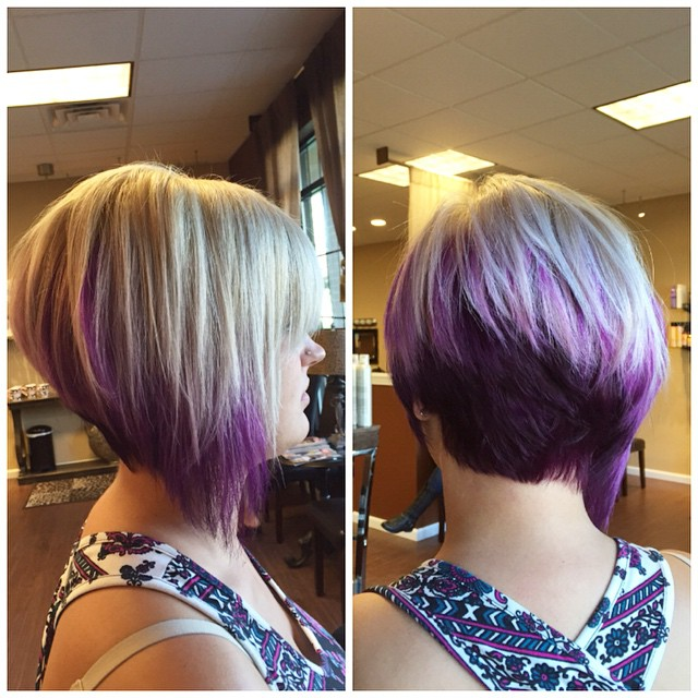 Angled Bob Hairstyles for thick hair