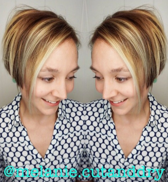 Back to school hairstyles for short hair - graduated bob cut ...