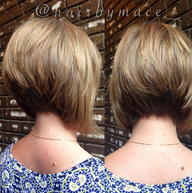 Groovy 21 Hottest Stacked Bob Hairstyles Hairstyles Weekly Hairstyle Inspiration Daily Dogsangcom