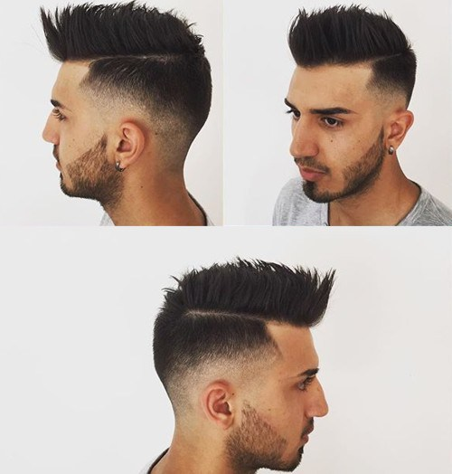 Faux Hawk Haircut for men