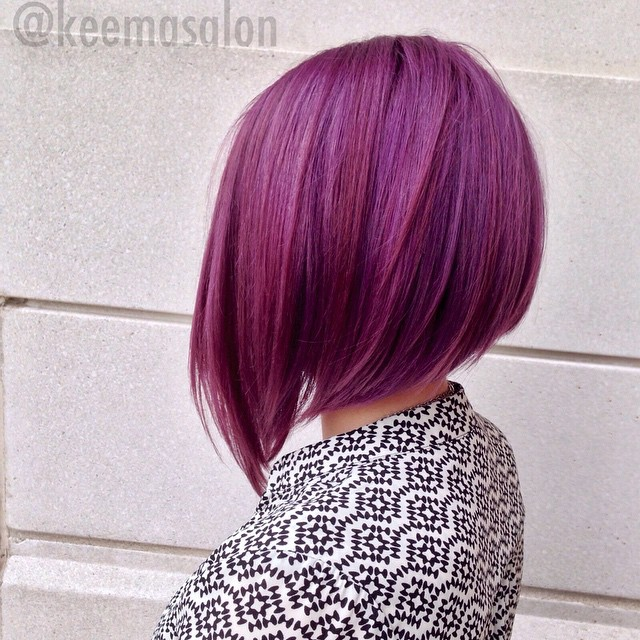 Light Pink Hair Streaks