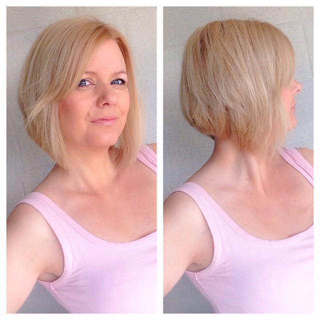 Short Layered Bob Haircuts For Older Women 35