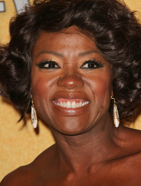 25 cool stylish bob hairstyles for black women hairstyles weekly viola davis short bob hairstyle for black women with square faces urmus Image collections