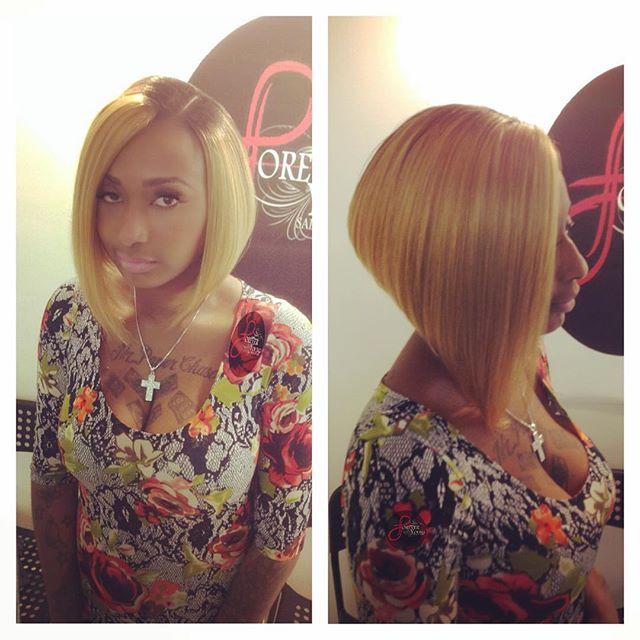 Pleasant 25 Cool Stylish Bob Hairstyles For Black Women Hairstyles Weekly Hairstyle Inspiration Daily Dogsangcom