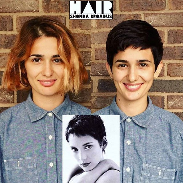 chic boyish short pixie cut for women