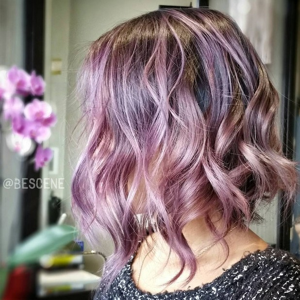 20 Gorgeous Pastel Purple Hairstyles For Short, Long And