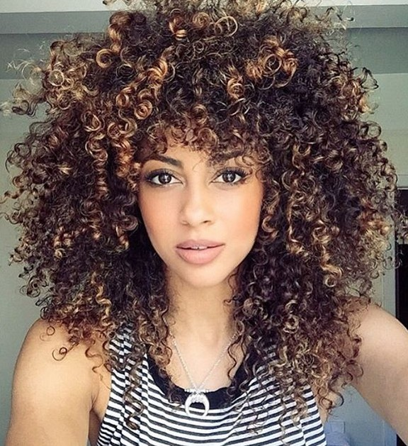 curly hairstyles for women - permed hairstyles