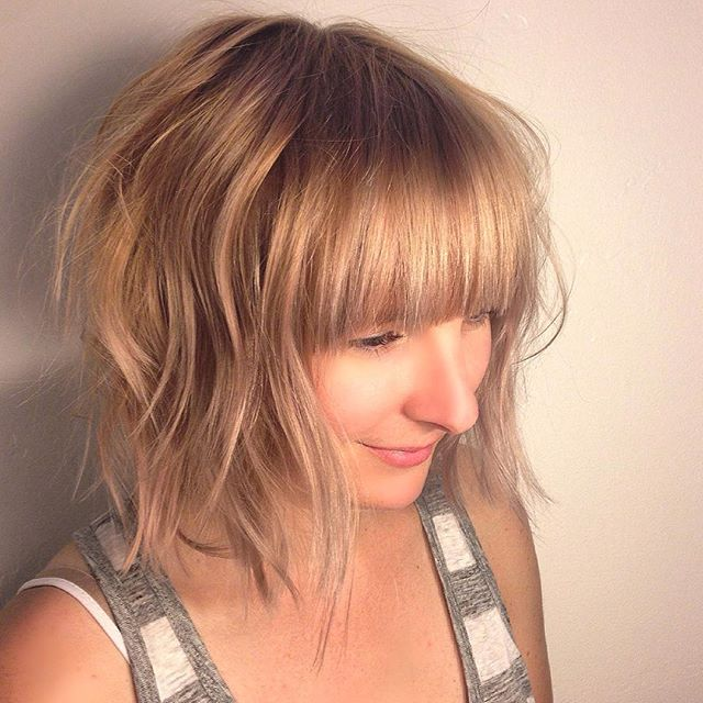 30 Chic Bob Hairstyles with Bangs - Hairstyles Weekly