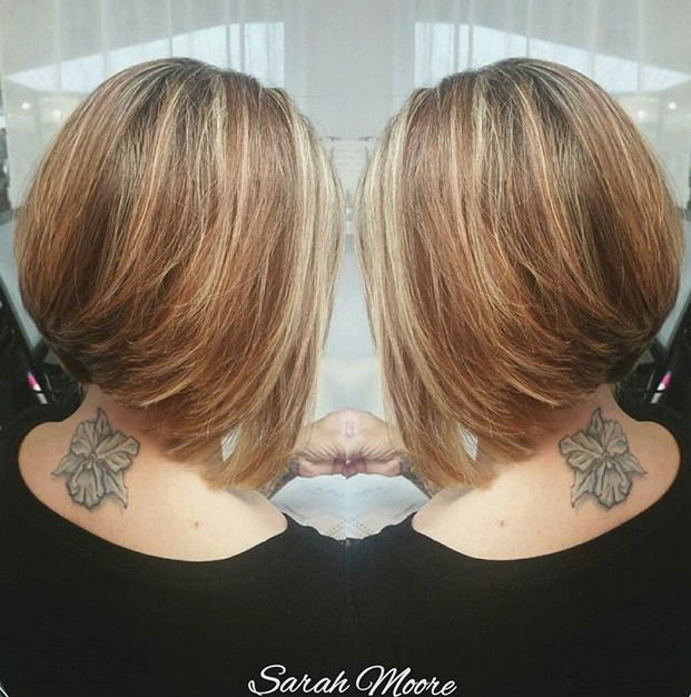 hair spiration - stacked bob haircut