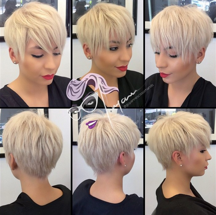 long pixie cut for short hair