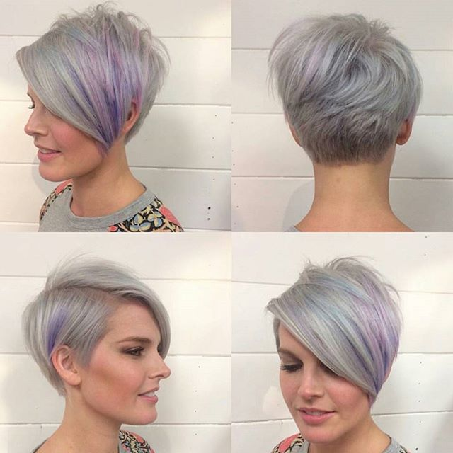 40 Hottest Short Hairstyles Short Haircuts 2021 Bobs Pixie Cool Colors Hairstyles Weekly