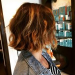 medium bob beach waves mob beachy wavy bob hairstyle