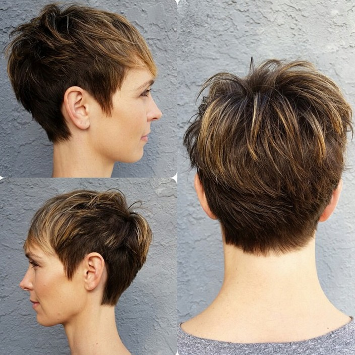 18 Simple Easy Short Pixie Cuts For Oval Faces