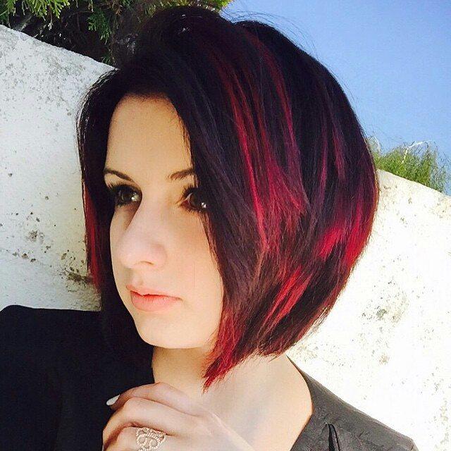 Terrific Short Bob Hair Color Ideas Dark Red Hairstyles Weekly Natural Hairstyles Runnerswayorg