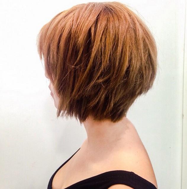 short choppy bob hair style
